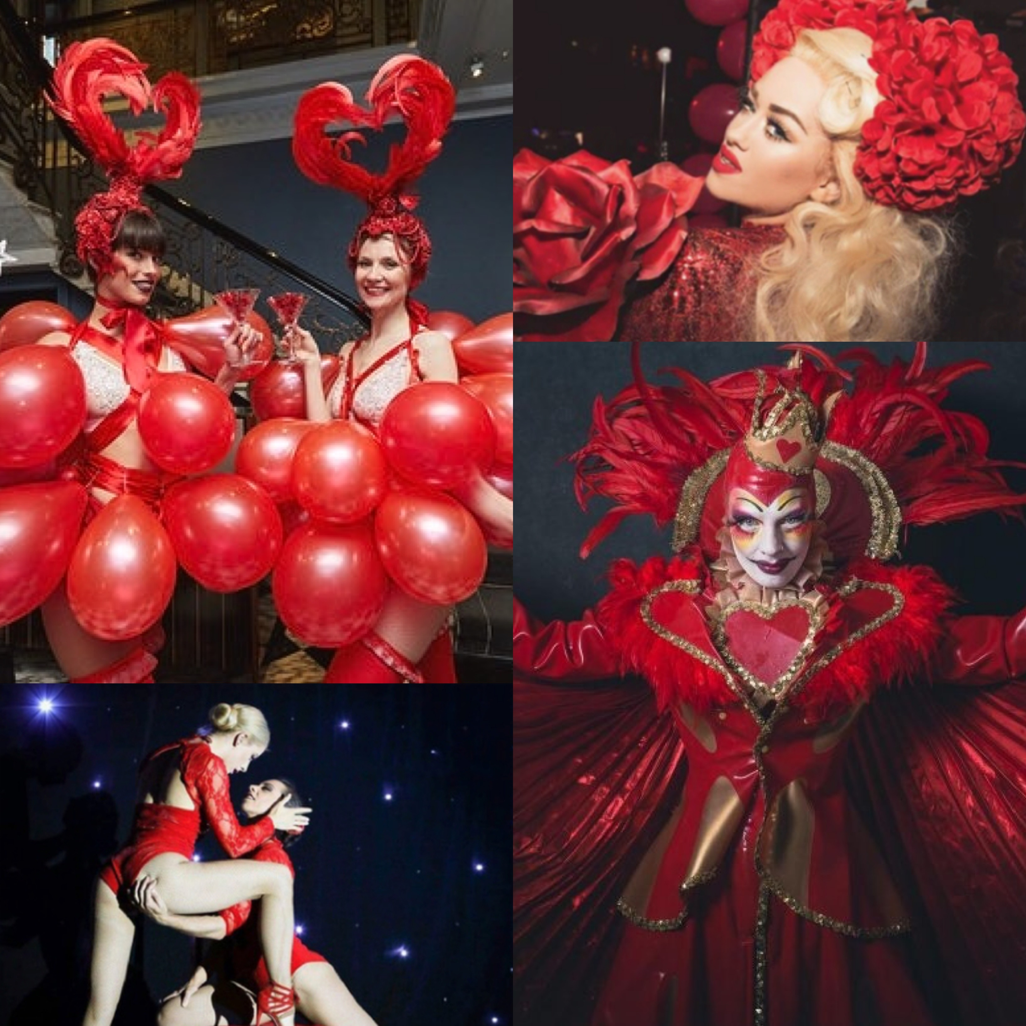 Valentines Day Performers