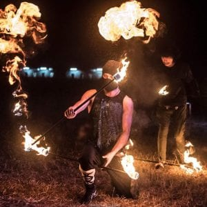 Hire Fire Performer